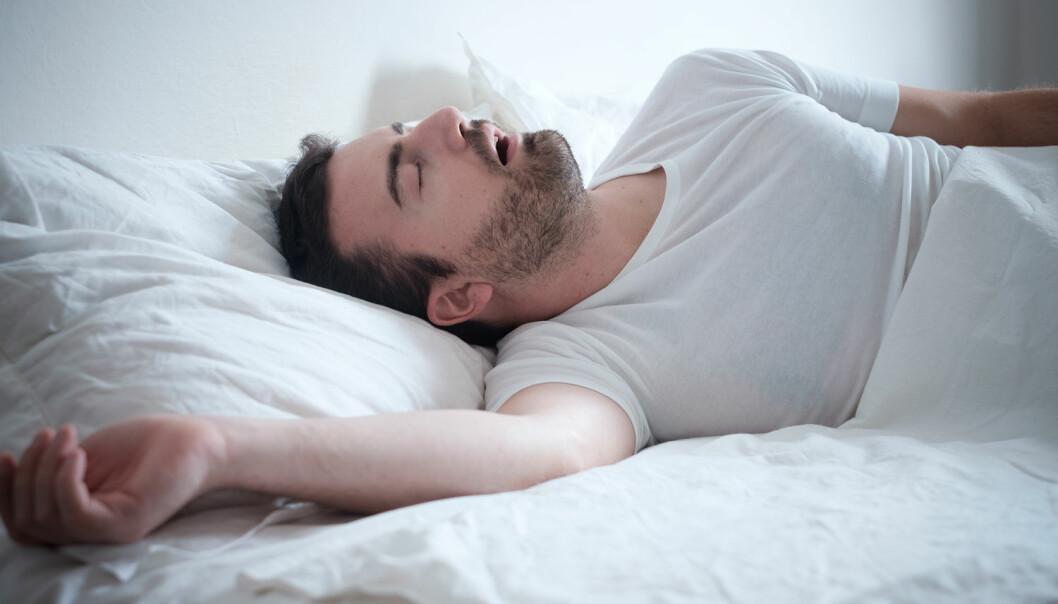 Personer med ADHD opplever ofte å få problemer med pustestopp under søvn. Faktisk fem ganger oftere enn folk uten diagnosen. (Foto: Shutterstock / NTB scanpix)