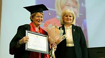 Anne Husebekk er utnevnt til æresdoktor