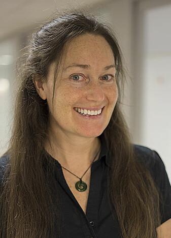 Krista G. Steenbergen fra Massey University Auckland i New Zealand. (Foto: Camilla Kottum Elmar)