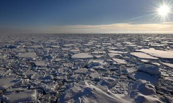 CO₂-opptak i arktisk is, vann og bunn