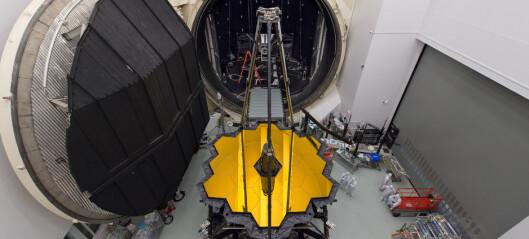 Skal ta over for Hubble og se tilbake til tidenes morgen