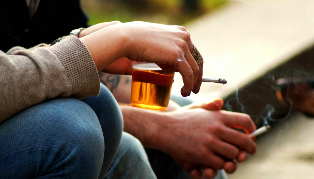 Røykegener fører ikke til mer drikking