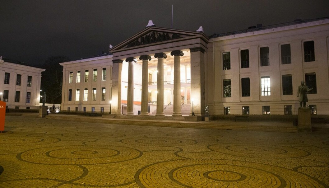 I en rapport bestilt av Det juridiske fakultet ved Universitetet i Oslo i 2016 fortalte flere ansatte uoppfordret om tilfeller av uønsket seksuell oppmerksomhet og trakassering. (Foto: Terje Bendiksby, NTB scanpix)