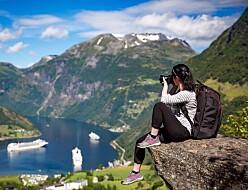 Turist i naturen