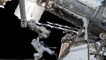 Lufttrykk gjenopprettet på romstasjonen
