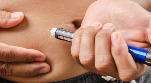 Mange med diabetes får komplikasjoner ved egenbehandling