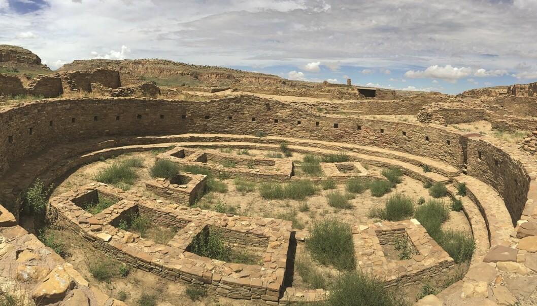 En kiva, eller et rituelt rom, i Pueblo Bonito. (Bilde: Barbara J. Mills/Antiquity 2018)