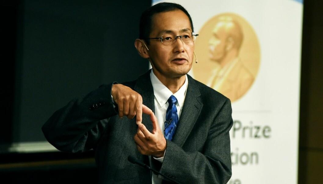 Shinya Yamanaka overrasket en hel verden da han i 2006 greide å omprogrammere modne, spesialiserte celler til stamceller. For denne oppdagelsen fikk han Nobelprisen i medisin i 2012. Tidligere i høst besøkte han Universitetet i Oslo. (Foto: Ola Sæther)