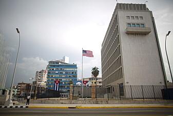 Mistanke om at amerikanske diplomater ble skadet av mikrobølgevåpen