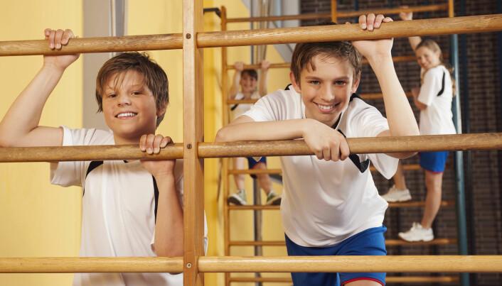 Selv om det er mange kvaler underveis, kan både gutter og jenter nyte godt av en større muskelmasse etter puberteten. (Foto: TunedIn by Westend61 / Shutterstock / NTB scanpix)