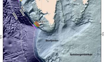 Full storm og nytt feltområde ved Svalbard