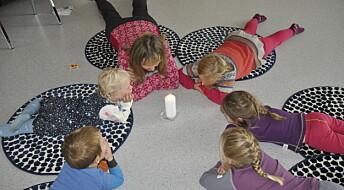 Stress i barnehagen er verst for de minste
