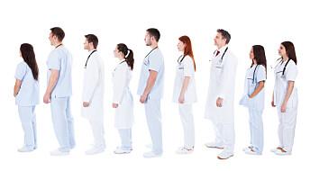 Norge har mest helsepersonell i verden