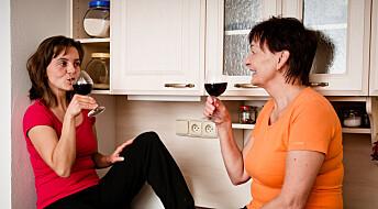 Hoftebrudd skjer oftere hos kvinner som ikke drikker