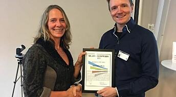 Marianne Olsen tildelt Miljøringenprisen