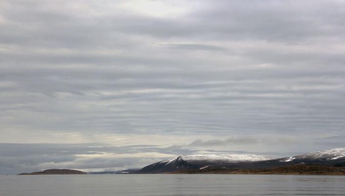 Vakre landskap. Skal tru kva som står skrive i skyene her…? (Foto: Lilja R. Bjarnadóttir, NGU)