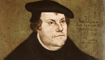 I disse dager er det akkurat 500 år siden Martin Luther startet sitt suksessrike opprør mot den katolske kirken. Portrettet er malt av hans venn og trofaste følger Lucas Cranach den Eldre.