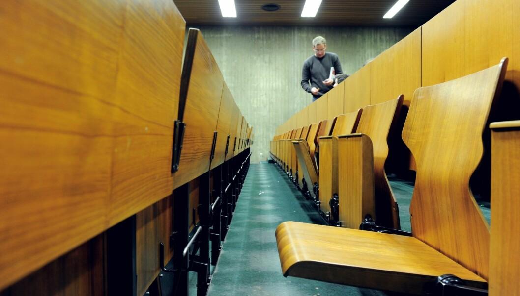 – Studenter er i en overgang til voksenlivet. De skal klare seg selv, etablere nytt sosialt nettverk og levere på høye krav. Dette ser ut til å gjøre studentene mer utsatt for psykiske plager, sier leder for studenthelseundersøkelsen Kari Jussie Lønning. Foto: Frank May / NTB scanpix