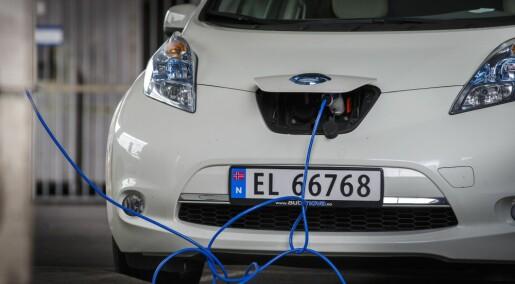 Nei, en dieselbil har ikke like store produksjonsutslipp som en elbil