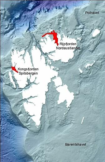 Prøvene på dette toktet samles i Kongsfjorden og Rijpfjorden på Svalbard.