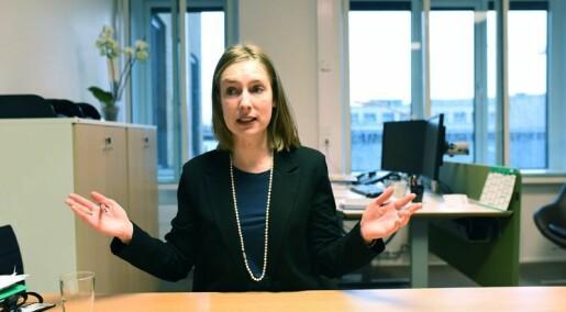 Iselin Nybø om EUs nye forskingsprogram: – Noreg må ikkje bli helt ut med badevatnet