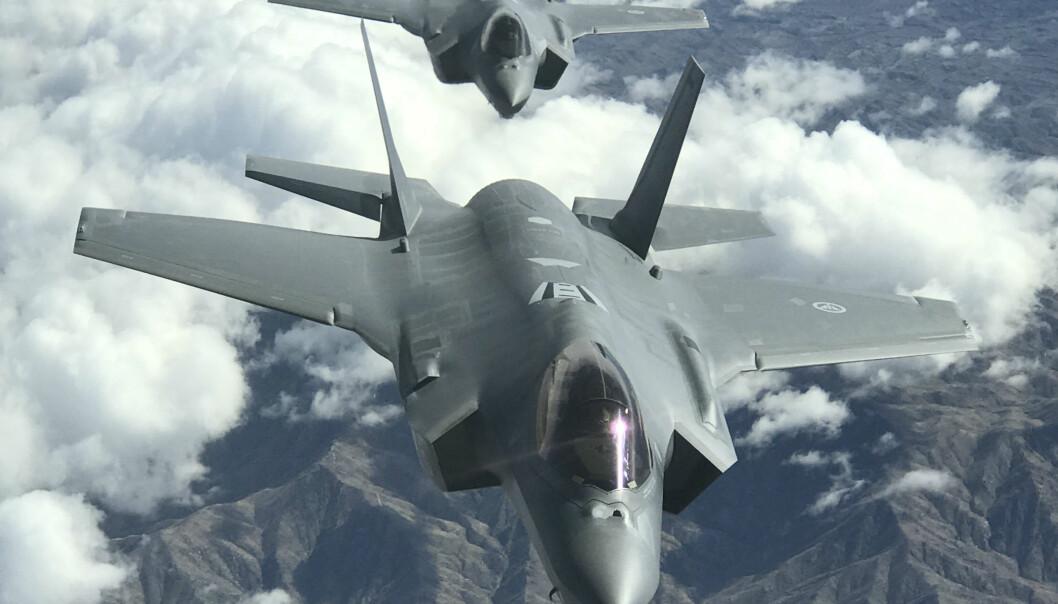 F-35 under prøveflygning i USA mars 2017.  (Foto: Kyle Van Der Wagen, USAF)