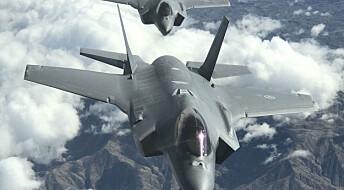 – Å fly F-35 er som å ha en R2-D2 i baksetet