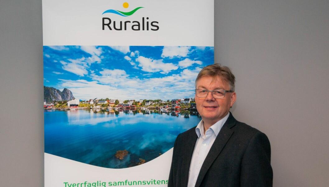 Ved å endre navn ønsker vi å nå nye brukere, sier direktør Harald Lein. (Foto: Ruralis)