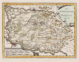 Temeswar var navnet på en provins i Habsburgmonarkiet som ikke finnes lenger. Fram til 1778 omfattet den Romania (Timisoara), Serbia (Vojvodina) og en liten del av Ungarn. (Kart fra Wikimedia Commons)