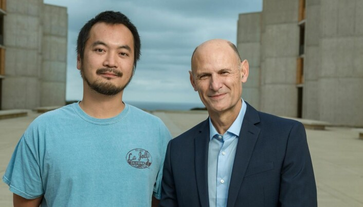 Masakazu Kurita og Juan Carlos Izpisua Belmonte er to av forskerne som står bak studien. [Foto: Salk Institute]