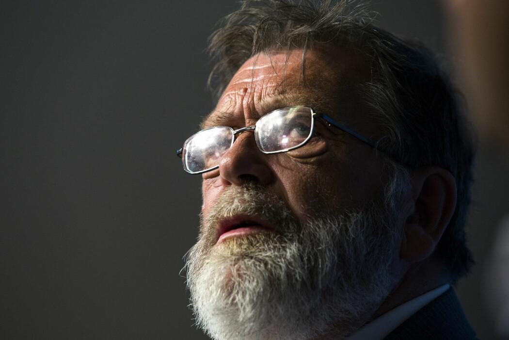 Frank Aarebrot (statsviter) døde i fjor, men hedres fredag med den første årlige forelesningen til hans minne ved Universitetet i Bergen. Foto: Berit Roald / NTB scanpix