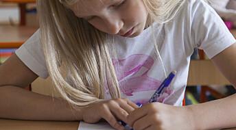 Lærere bruker ikke resultatene fra nasjonale prøver