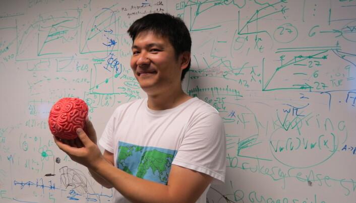 – Det er vanskelig å definere intelligens og hvordan dette henger sammen med størrelsen på hjernen. Generelt sett gjør hver enkelt organisme det mest intelligente den kan, forklarer Masahito Tsuboi. (Foto: Ida Arff Tarjem, UiO)