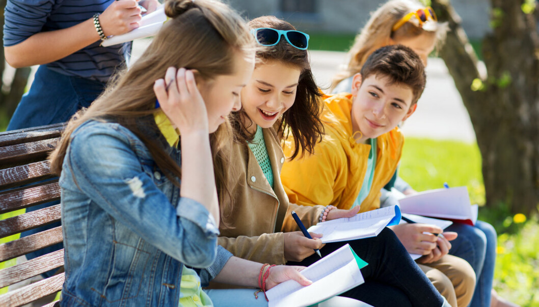 Norske elever er opptatt av medbestemmelse. De er best i verden på å delta i demokratiske aktiviteter på skolen som elevråd, elevparlament og studentdebatter. (Foto: Shutterstock / NTB scanpix)
