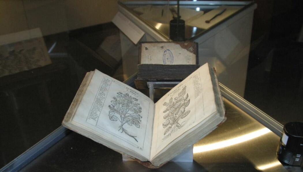 Boken Henrick Smids Tredie Urtegaard er en slags 1500-tallets Lommelege. (Foto: Nina Aldin Thune ved Norske Wikipedia / CC BY-SA 3.0)