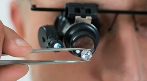 Forskere kan lagre data i diamanter