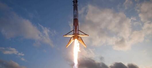 Elon Musk vil finansiere Mars-drømmen med Falcon-bruk