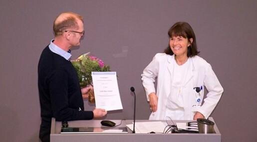 Pris til Cecilie Schrøder for årets artikkel