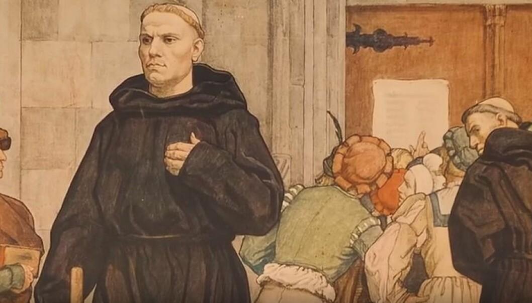 Den katolske kirken ble utfordret av Luthers teser, ikke bare teologisk, men også økonomisk, for avlatshandelen falt etter hvert drastisk. Kirken innledet derfor en kjettersak mot Luther, og det endte med at han i 1521 ble bannlyst av kirken.