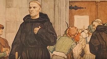 En myte at Luther spikret tesene sine på kirkedøren