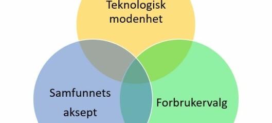 Nøkkel til fornybar utvikling: Teknologisk modenhet – samfunnsaksept – forbrukervalg