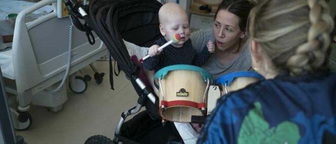 Gjør musikken til det små barn husker fra sykehuset