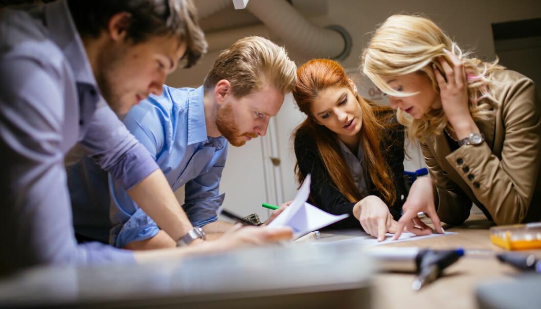 Norske arbeidstakere opplever høye krav på jobben. Men de fleste trives med det.  (Foto: Shutterstock)