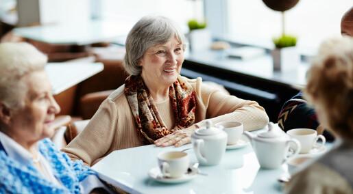 Etterlyser mer sosial omsorg for eldre