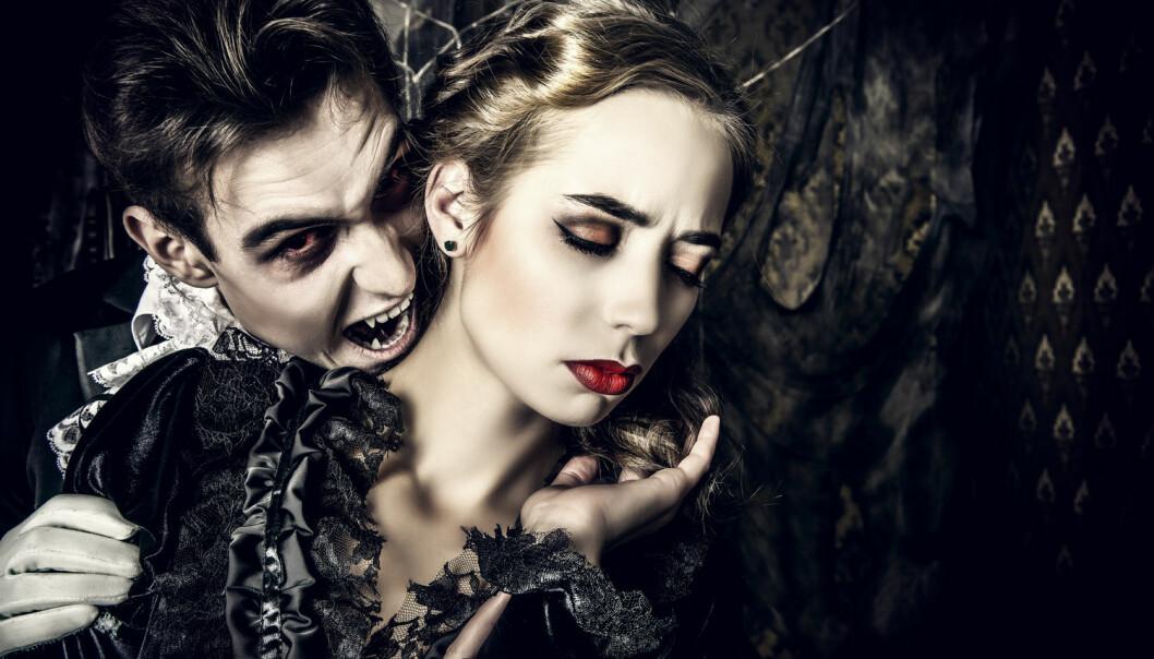 Den norske overlegen Atle Brun ved Nasjonalt kompetansesenter for porfyrisykdommer mistenker at koblingen mellom pasienter med porfyri og opphavet til vampyrmyten er en «gimmick» for å få oppmerksomhet. Han mener at det ikke er noen forsknings som støtter at folk med profyri er grunnen til at det oppsto historier om vampyrer. (Foto: Shutterstock/NTB/Scanpix)