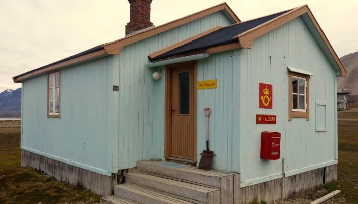Postkontoret i Ny-Ålesund. (Foto: Frida Eriksdatter Tradin)