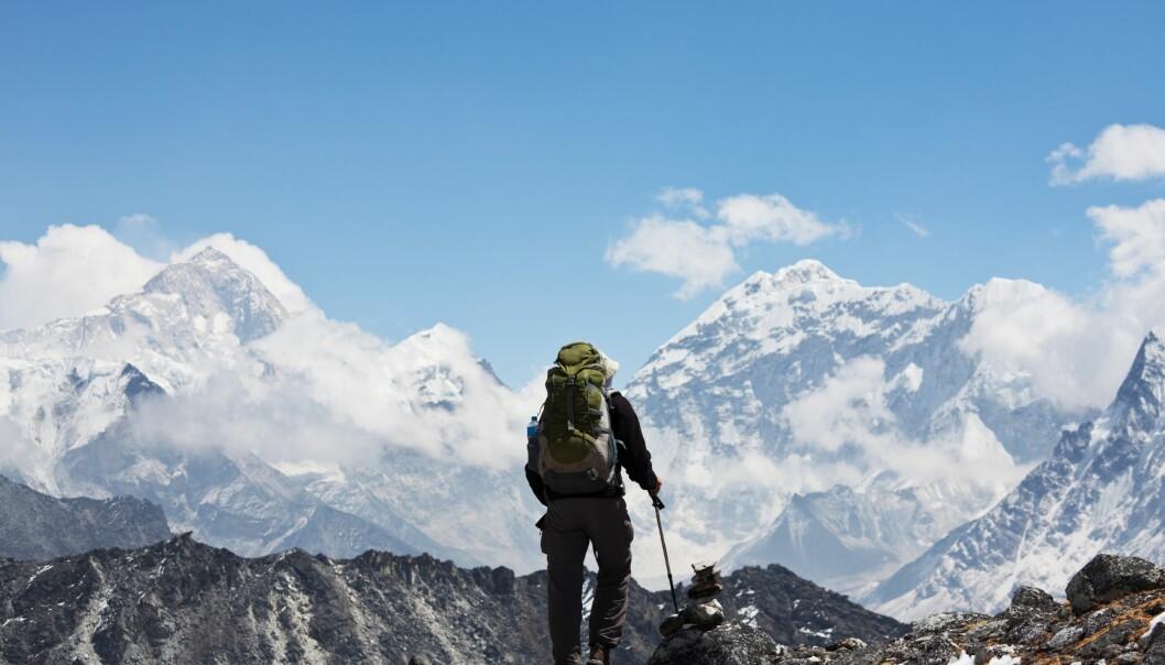 Himalaya er gåtefullt og vakkert - men det er også et område hvor det er krevende for forskerne å drive feltarbeid. (Foto: Colourbox)