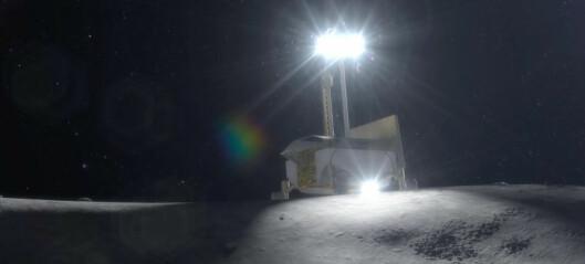 NASA-rover til Månen med privat hjelp