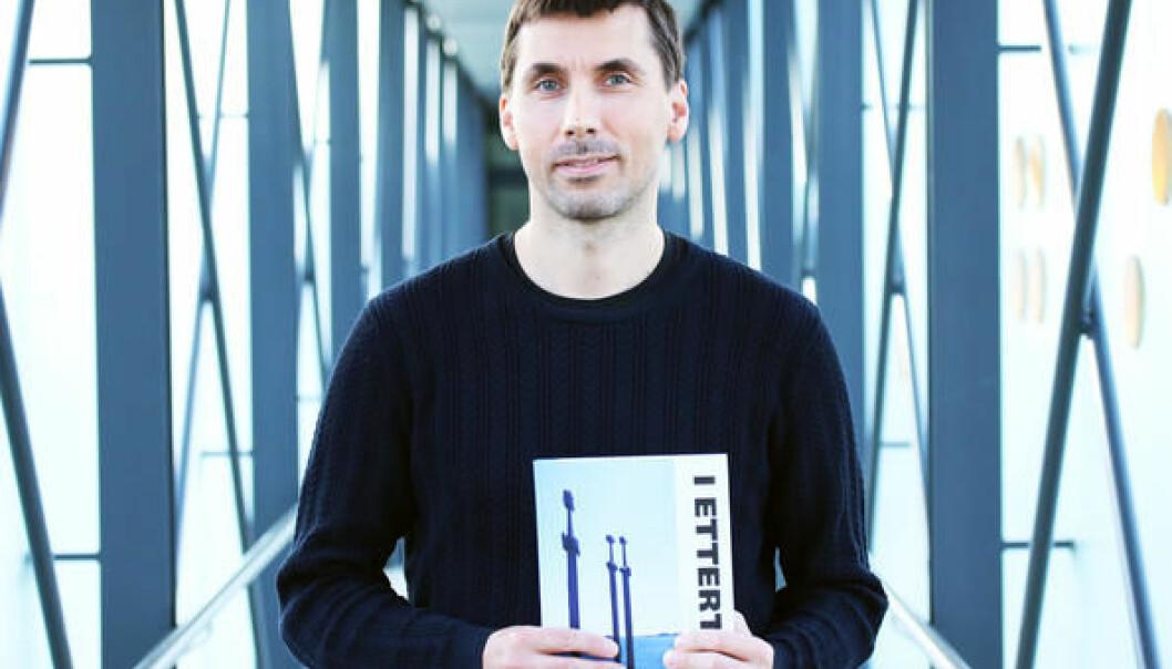 Ketil Knutsen har skrevet «I Ettertid» sammen med kollegaer fra andre universiteter og skoler. (Foto: UiS)
