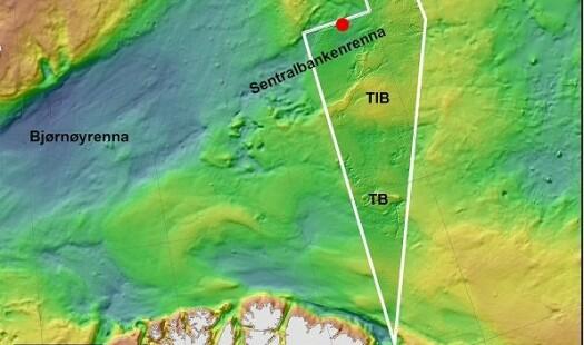 Kartlegger sentrale deler av Barentshavet